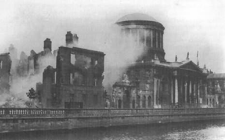Four courts shelling